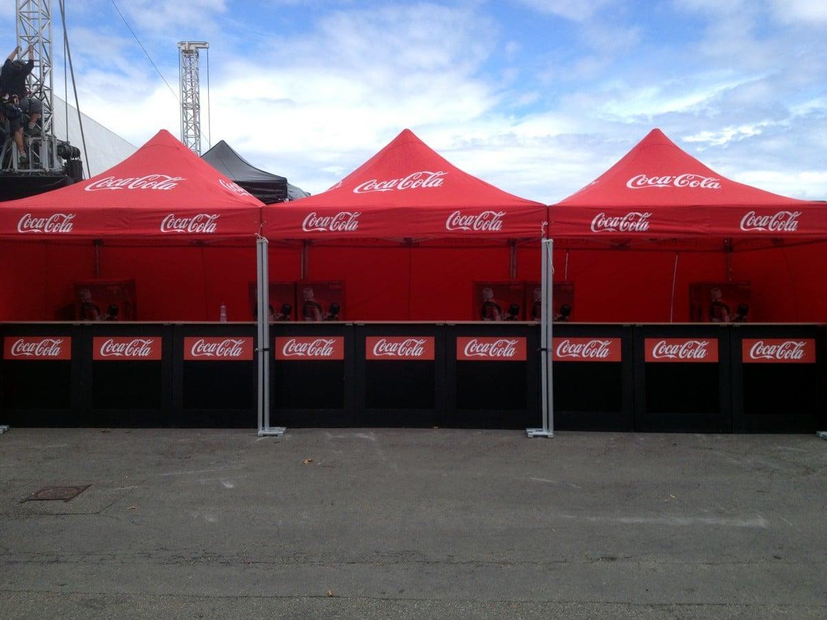 Coca Cola Faltzelte