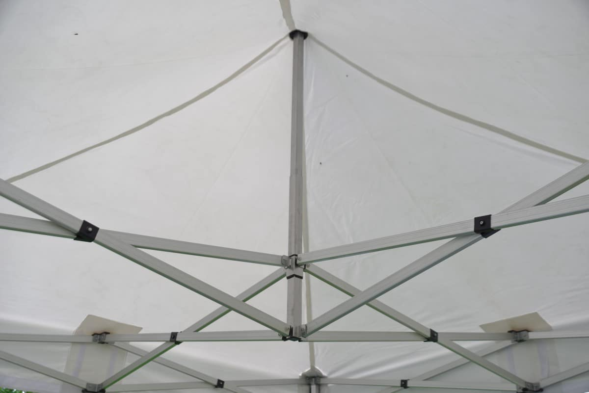 Gestell 3 Dachkonstruktion Zelt
