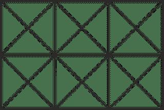 faltgestell für zeltgrösse 2x3m für dächer und seitenwände aus polyester oder pvc