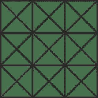 faltgestell für zeltgrösse 3x3m für dächer und seitenwände aus polyester oder pvc