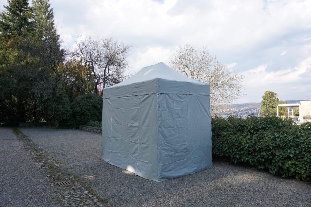 2x3 Meter Polyesterzelt Weiß