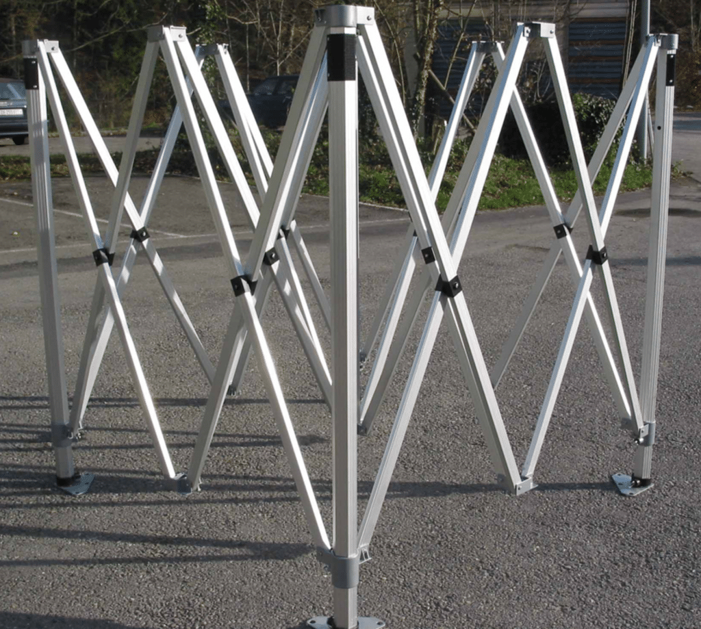 Gestell 3x3m, 4.5x3m, 6x3m, Marketzelt